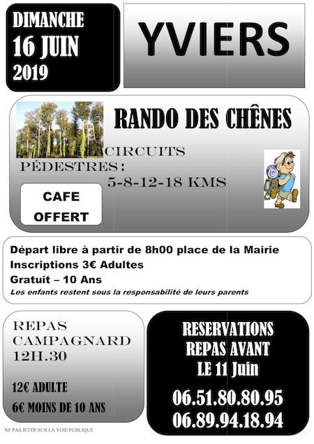 AFFICHE randonnée 2019