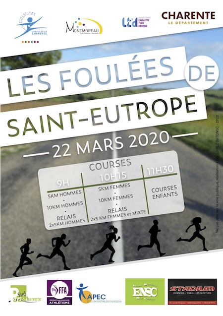 Flyer Foulees 2020
