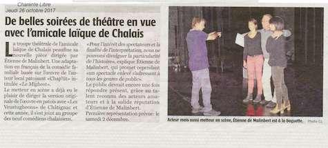 article CL Théâtre